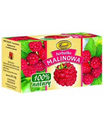 Herbatka malinowa 100%