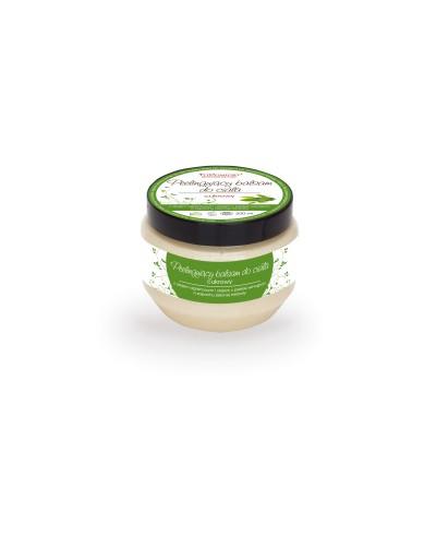 Peelingujący cukrowy balsam do ciała z olejem arganowym i olejem z pestek winogron o zapachu zielonej herbaty FITCOMFORT 200 ml