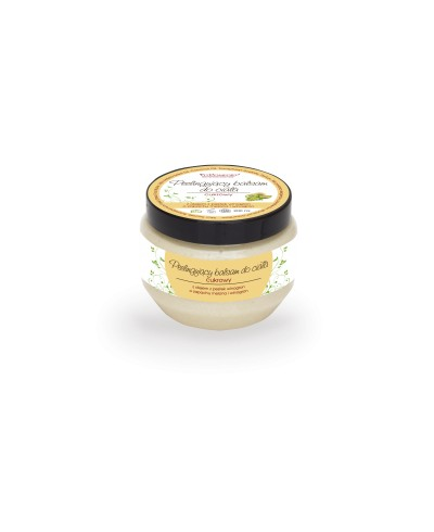 Peelingujący cukrowy balsam do ciała z olejem z pestek winogrona o zapachu melona i winogron FITCOMFORT 200 ml