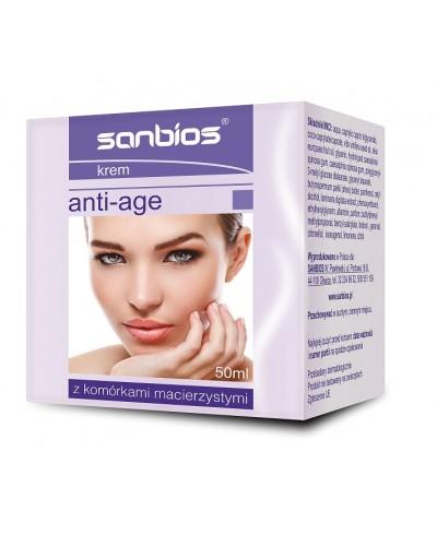 Krem do twarzy  anti - age z komórkami macierzystymi SANBIOS 50 ml