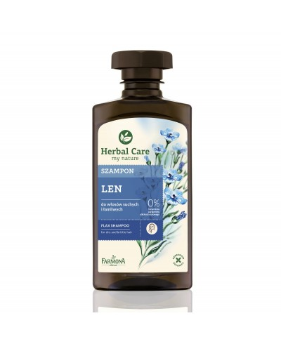 Szampon do włosów len Herbal Care FARMONA 330 ml