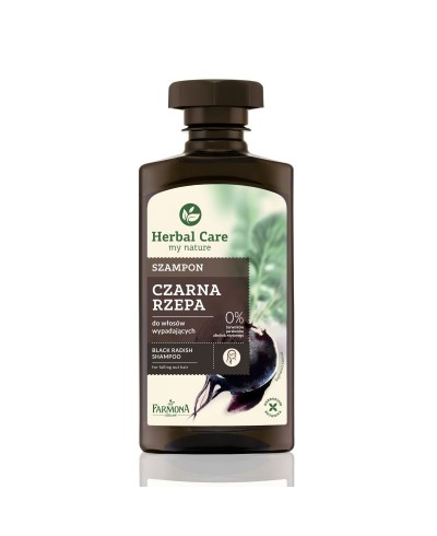 Szampon do włosów czarna rzepa Herbal Care FARMONA 330 ml