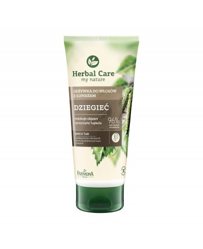 Odżywka do włosów dziegieć Herbal Care FARMONA 200 ml