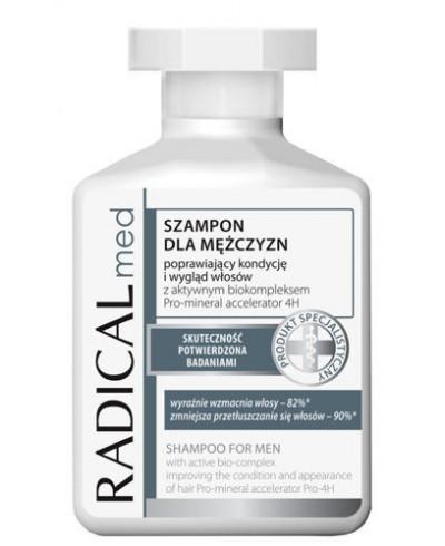 Szampon do włosów dla mężczyzn Radical Med FARMONA 300 ml