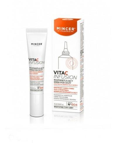 Krem pod oczy rozświetlający Vita C Infusion MINCER PHARMA 15 ml
