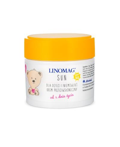 Krem przeciwsłoneczny dla dzieci LINOMAG SUN SPF 30 50 ml