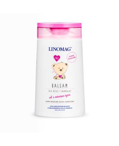 Balsam dla dzieci nawilżająco - natłuszczający LINOMAG 200 ml