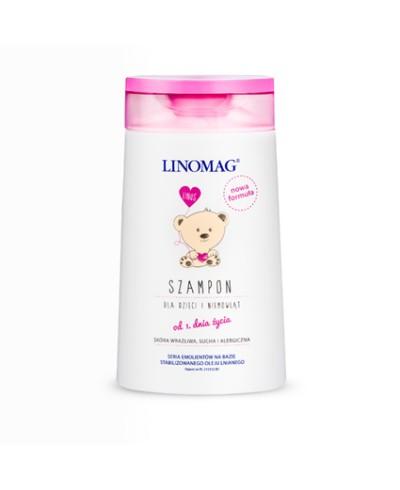 Olejek dla dzieci i niemowląt natłuszczający do kąpieli LINOMAG 200 ml