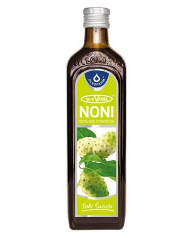Sok naturalny 100% z noni OLEOFARM 490 ml