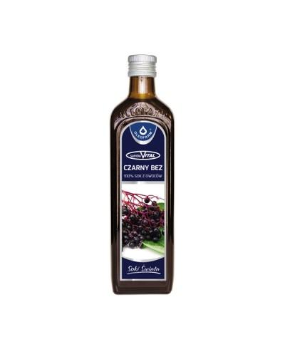 Sok naturalny 100% z czarnego bzu OLEOFARM 490 ml
