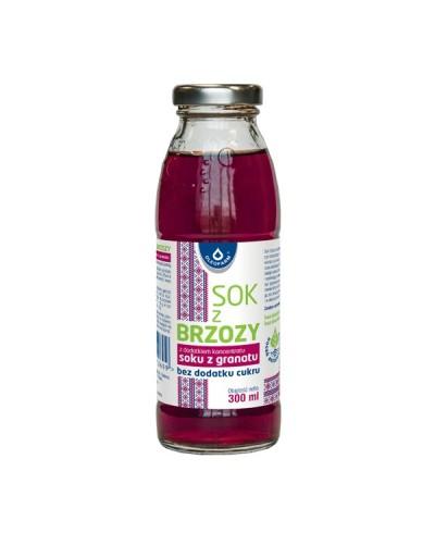 Sok z brzozy z dodatkiem soku z jabłek bez dodatku cukru OLEOFARM 1 l