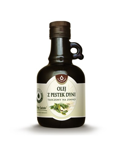 Olej z pestek dyni OLEOFARM 500 ml