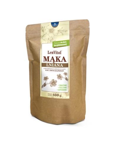 Mąka lniana LenVitol OLEOFARM 500 g