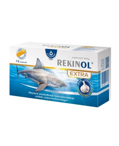 Rekinol extra OLEOFARM 72 kapsułki