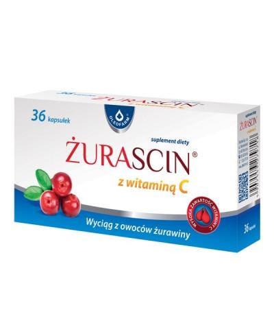 Żurascin z witaminą C OLEOFARM 36 kapsułek
