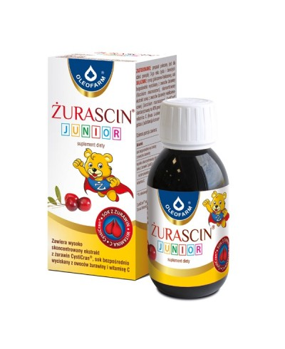 Żurascin junior OLEOFARM 100 ml
