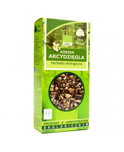 Herbatka ekologiczna z liści babki lancetowatej DARY NATURY 25 g