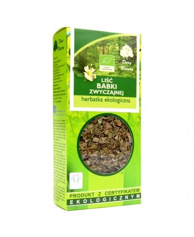 Herbatka ekologiczna z liści babki zwyczajnej DARY NATURY 25 g