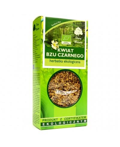 Herbatka ekologiczna kwiat czarnego bzu DARY NATURY 25 g