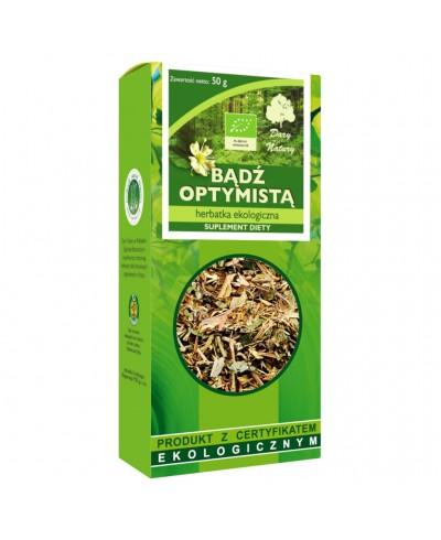 Herbatka ekologiczna bądź optymistą DARY NATURY