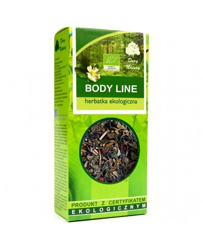 Herbatka ekologiczna body line DARY NATURY
