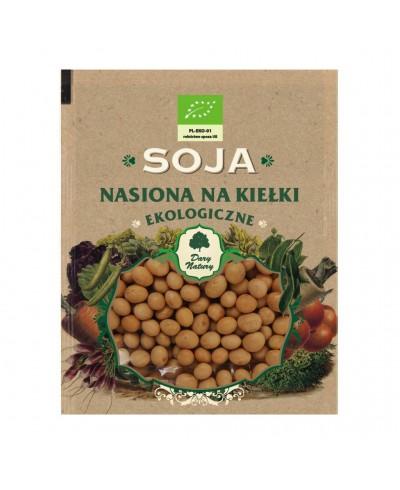 Nasiona ekologiczne na kiełki soja DARY NATURY 50 g