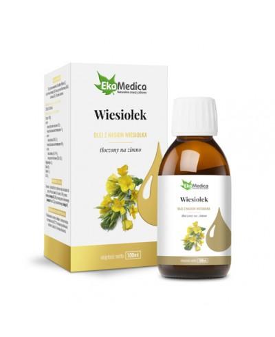 Olej z nasion wiesiołka tłoczony na zimno EKAMEDICA 100 ml
