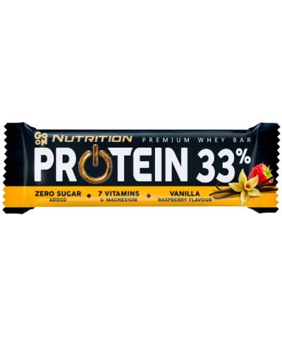 Baton proteinowy 33% wanilia & malina GO ON NUTRITION 50 g