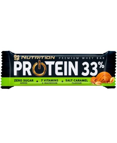 Baton proteinowy 33% słony karmel GO ON NUTRITION 50 g