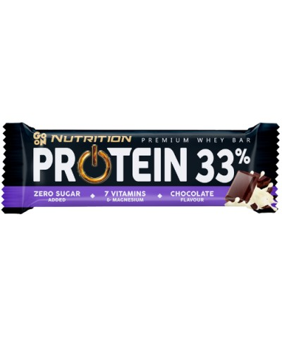 Baton proteinowy 33% czekoladowy GO ON NUTRITION 50 g