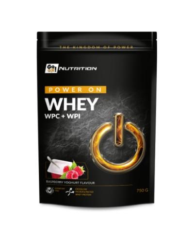 Białko serwatkowe WHEY malina jogurt GO ON! NUTRITION 750 g