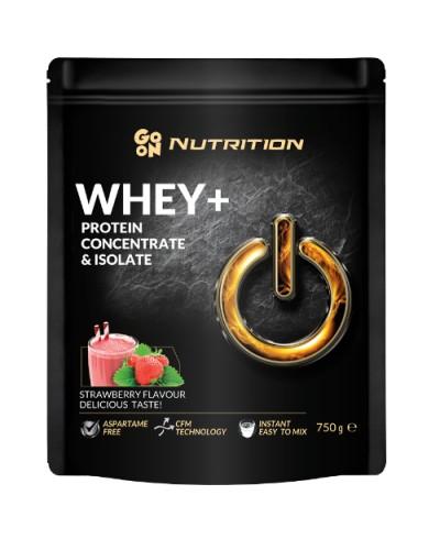 Białko serwatkowe WHEY truskawka GO ON! NUTRITION 750 g
