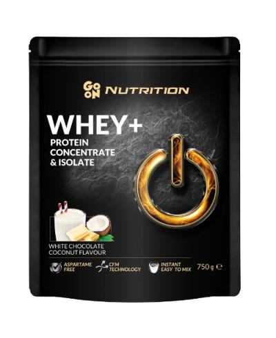 Białko serwatkowe WHEY kokos biała czekolada GO ON! NUTRITION 750 g