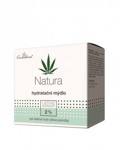 Mydło nawilżające z pH 5,5 NATURA CANNADERM 100 g