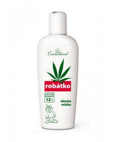 Mleko do codziennej pielęgnacji ROBATKO CANNADERM 150 ml