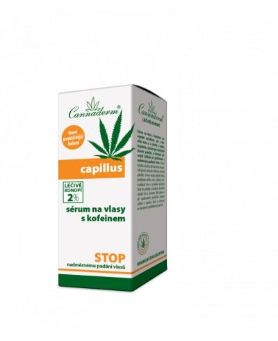 Serum do włosów z kofeiną CAPILLUS CANNADERM 40 ml