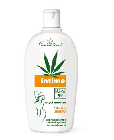 Emulsja do higieny intymnej INTIME CANNADERM 200 ml