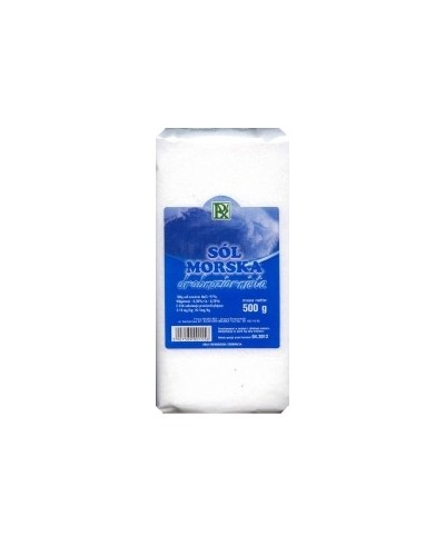 Sól morska drobna 0,5 kg