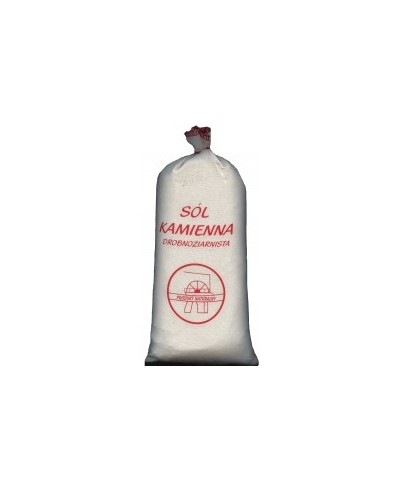 Sól kamienna drobnoziarnista niejodowana 1,5kg