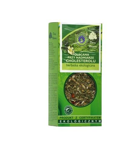 POLECANA PRZY NADMIARZE CHOLESTEROLU Herbatka ekologiczna
