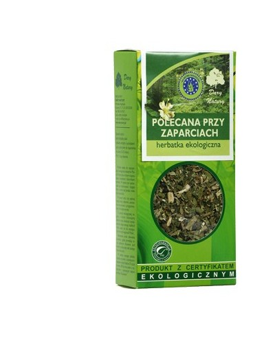 POLECANA PRZY ZAPARCIACH Herbatka ekologiczna