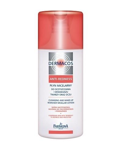 Dermacos Anti Redness płyn micelarny do demakijażu i oczyszczania skóry twarzy