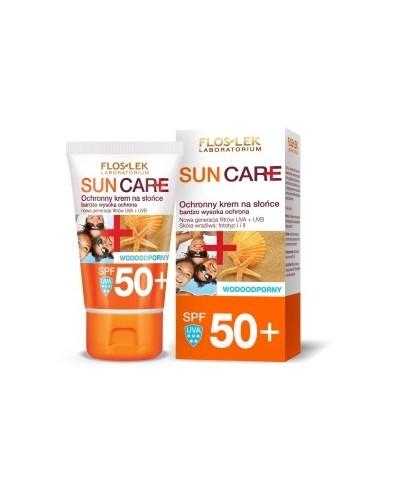 Ochronny krem na słońce SPF 50+ FLOS LEK