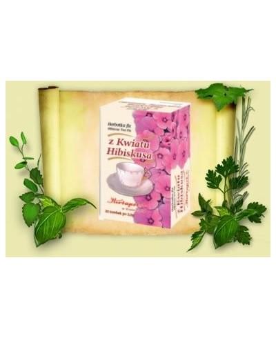 Herbatka z kwiatu hibiskusa