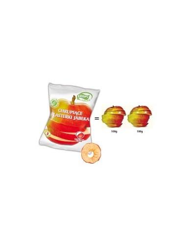 CRISPY NATURAL Chrupiące plasterki jabłka