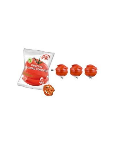 CRISPY NATURAL Chrupiące plasterki pomidora