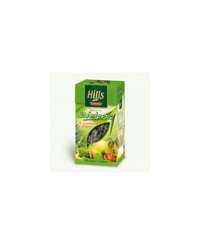 Herbata zielona pełnolistna z ananasem i pigwą
