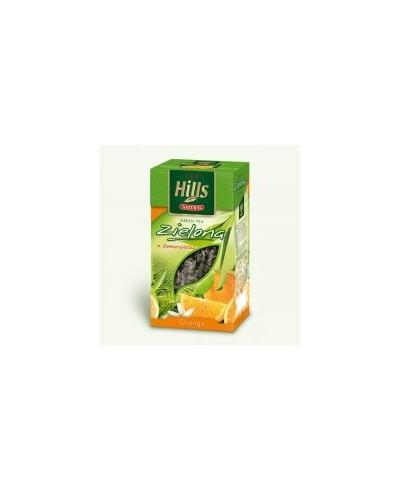 Herbata zielona pełnolistna z pomarańczą