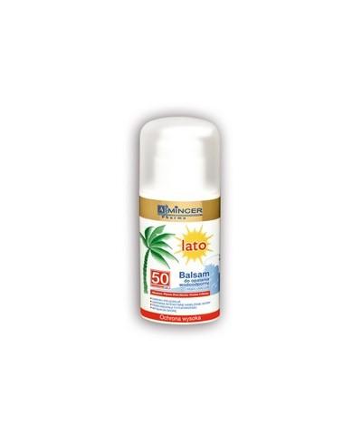 Balsam do opalania wodoodporny 50 spf